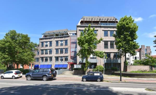 Riverside Apartments vooraanzicht
