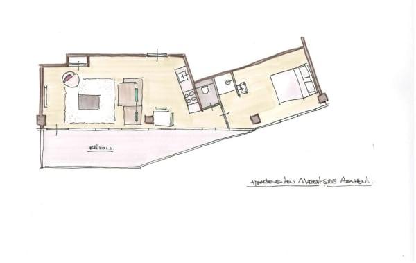 Marketside Apartments plattegrond