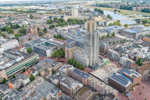Marketside Apartments luchtfoto