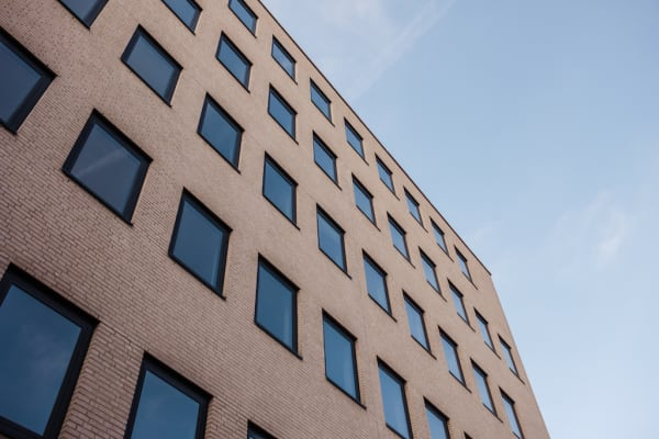 Centerside Apartments zijaanzicht