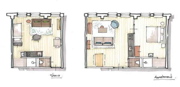 Brinkside Apartments plattegrond